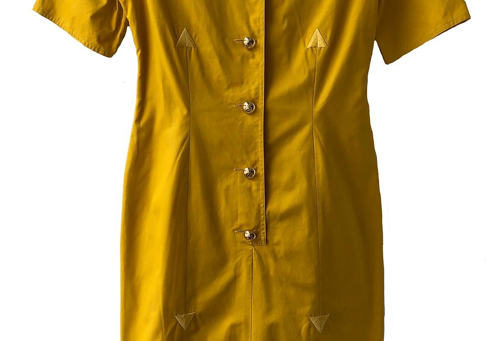 Vintage Valentino Orange  Dress