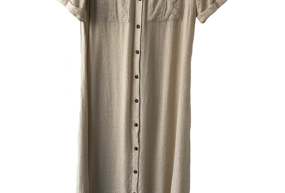 Object Beige Long Casual Dress