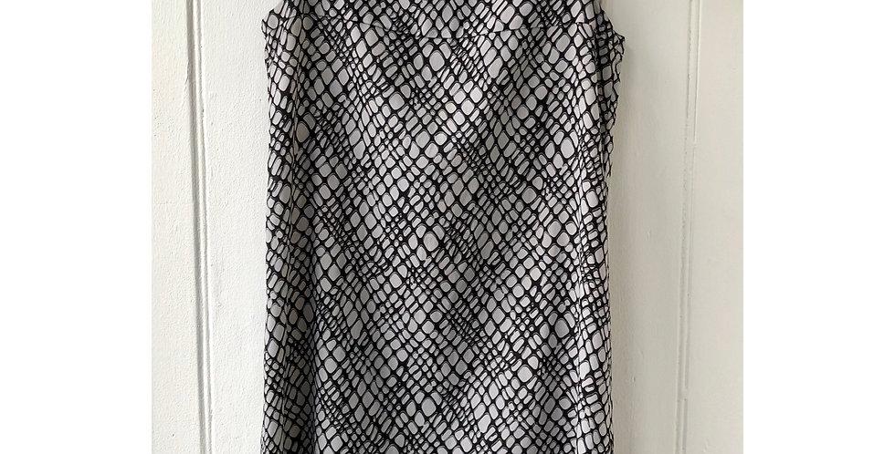 Uniqlo Abstract Print Dress Size UK 10