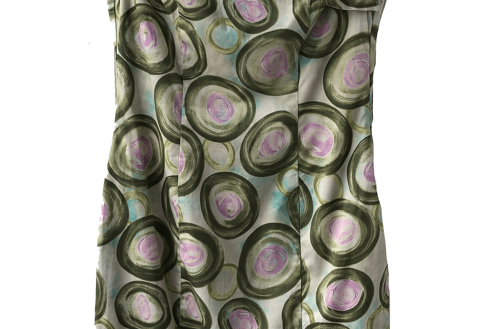 Red Valentino Abstract Pattern Pastel Dress
