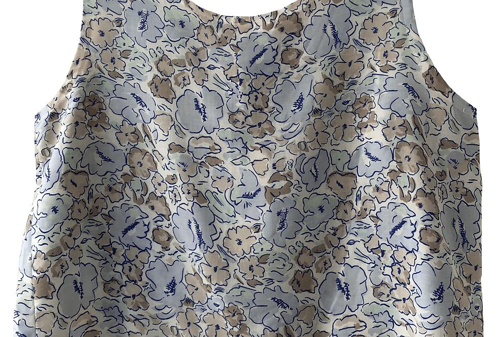 Cami Top Pastel Floral Pattern