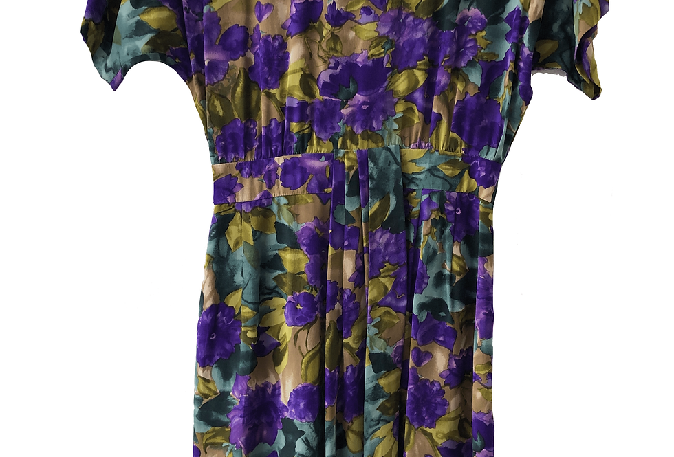 Maggy London by Jeanne Booher Vintage Floral Dress