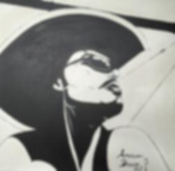 batli paints american dream bd cowboy road trip américain stetson andy warrol pirate des caraibes pont de San Francisco
