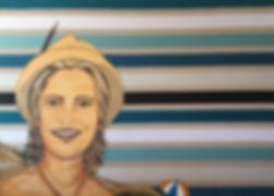 batli artiga quitterie bd corto maltese rayures bleu crayon