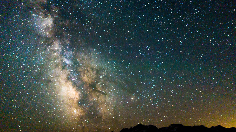 Sawtooth Milky Way