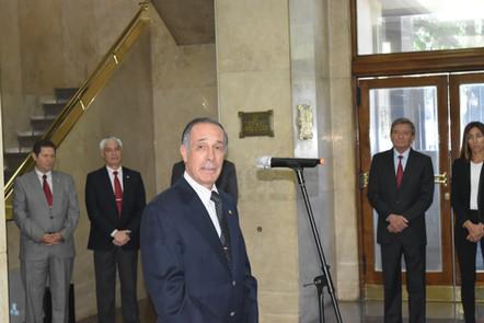 DESPEDIDA AL PRESIDENTE DEL IAF SEÑOR FABIÁN ROGEL