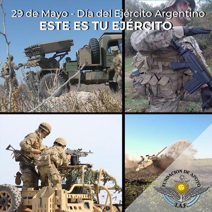 29 DE MAYO - DÍA DEL EJÉRCITO ARGENTINO