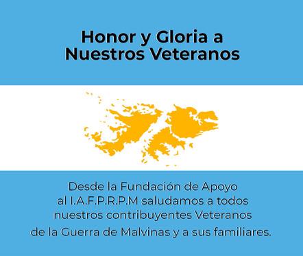 2 de Abril Día del Veterano de la guerra de las Islas Malvinas
