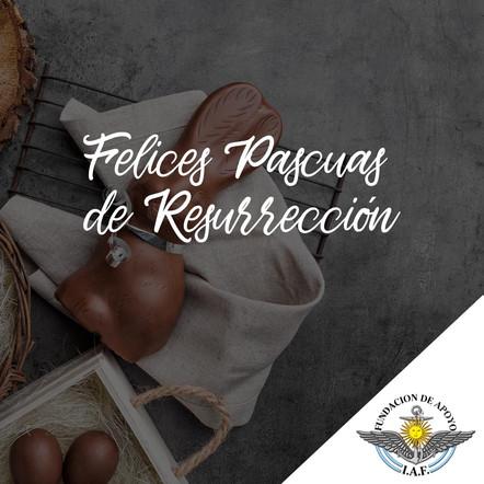 21 de Abril - Felices Pascuas de Resurrección!