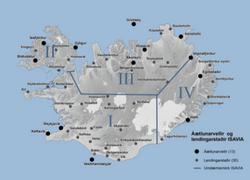 Lendingarstaðir á Íslandi