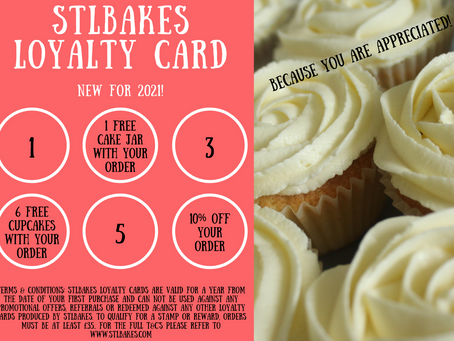 STLBakes loyalty cards are available!!! 🎉🎉🎉