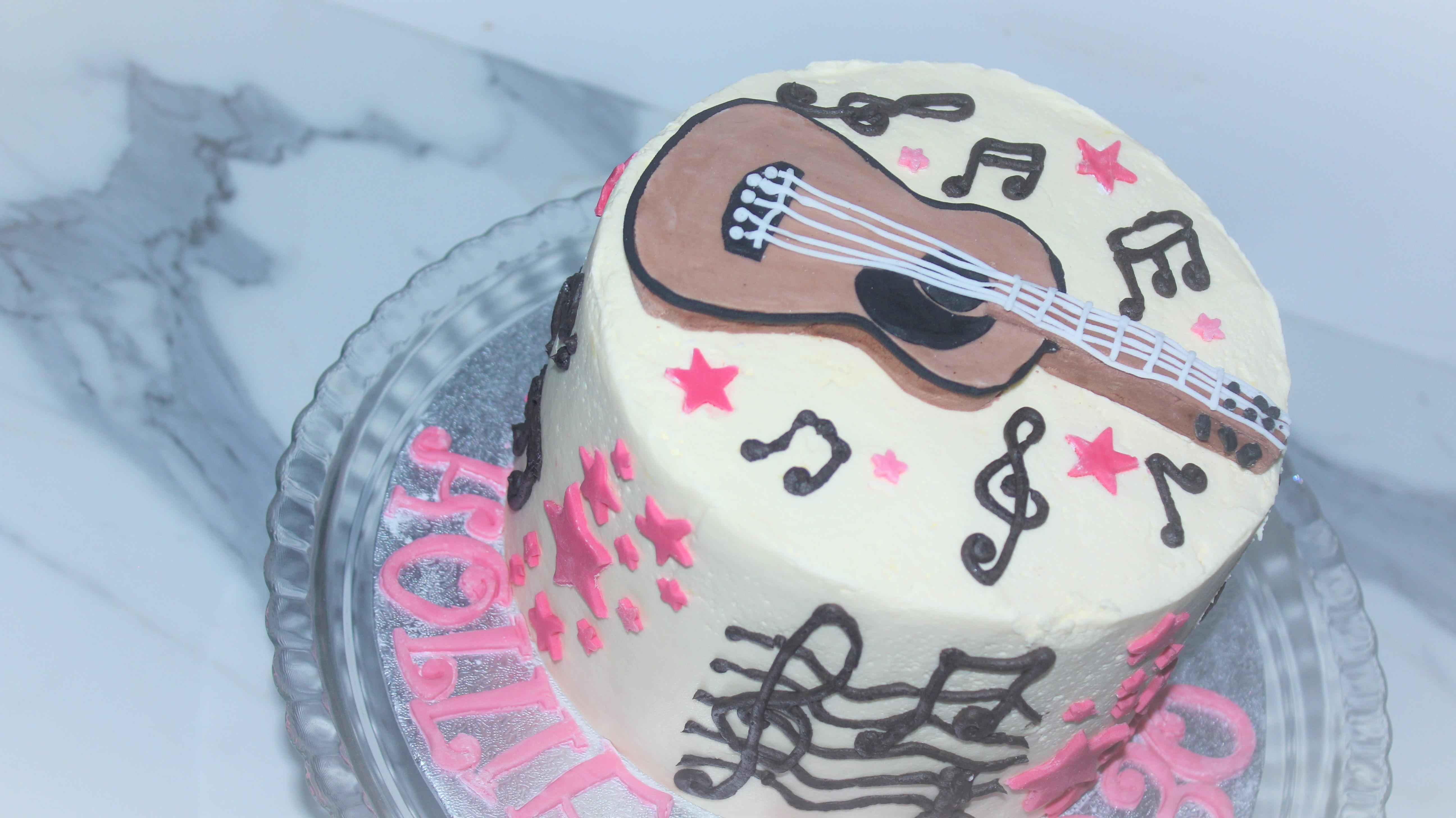 Music Inspired Cake