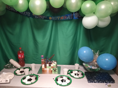 How I planned my son's birthday during lockdown!