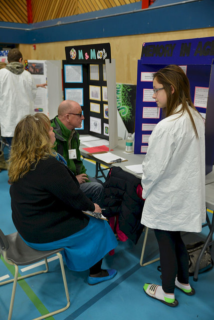 Science Fair Judging
