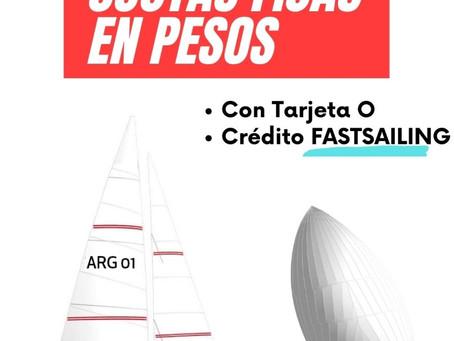 3, 6, 12 cuotas fijas en pesos!