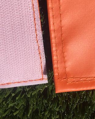 closeup of quality materials