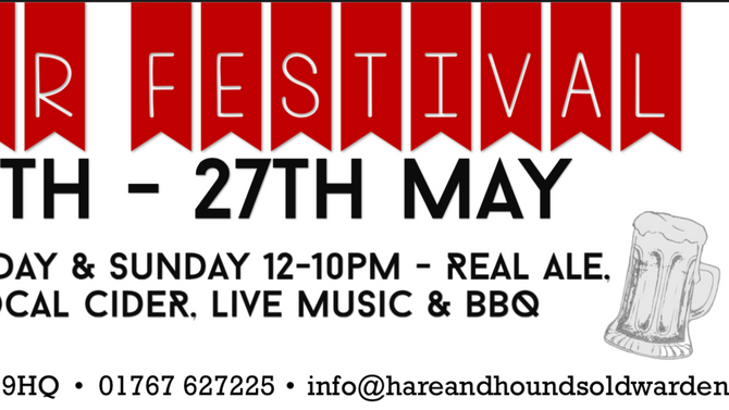 Join us for our 5th Beer Festival