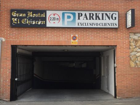 Parking GRATUITO para nuestros clientes