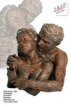 Escultura Afinidad - A. Anglada