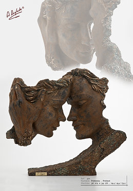 Escultura Pretexto - A. Anglada