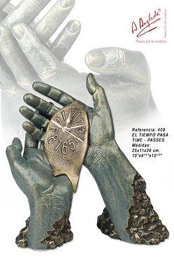 Escultura El tiempo pasa - A. Anglada