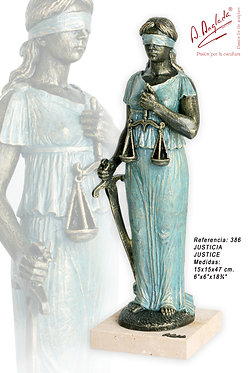 Escultura Justicia - A. Anglada