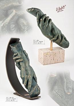 Escultura Fuerza (Base metálica) - A. Anglada