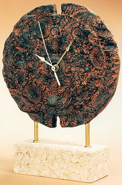 Reloj Fósiles redondo - A. Anglada