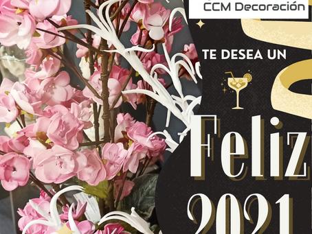 CCM Decoración os desea Feliz 2021