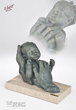 Escultura Soñando con mamá - A. Anglada