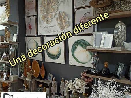 Una decoración diferente