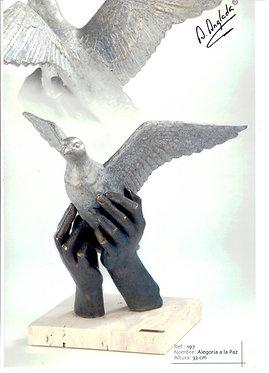 Escultura Alegoría a la Paz - A. Anglada