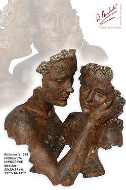 Escultura Inocencia - A. Anglada