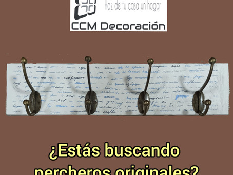 ¿Buscas percheros originales?