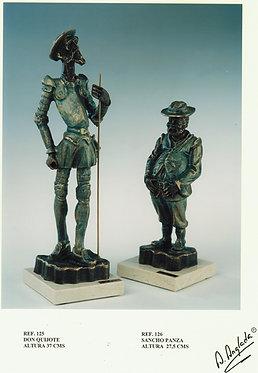 Escultura Don Quijote - A. Anglada