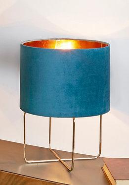 LAMPARA HEIKO AZUL 37 CMS