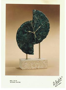 Reloj conchas formas - A. Anglada