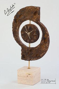 Reloj Floral - A. Anglada