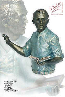 Escultura Profesor - A. Anglada