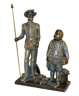 Escultura Pareja Sancho y Quijote - A. Anglada