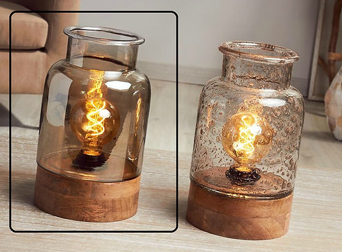 LAMPARA UXIA VIDRIO AHUM. 29