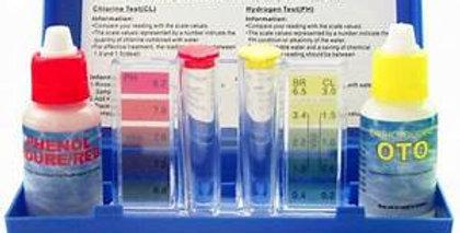 Kit analizador PH y cloro.