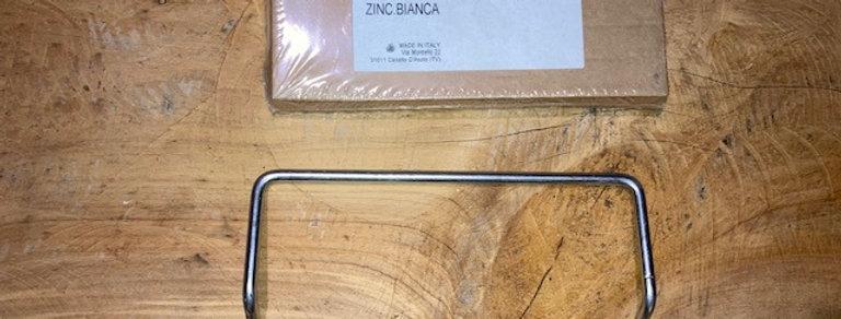 RE02011060 MANIGLIA MOVIMENTAZIONE IP68 ZINC.BIANCA