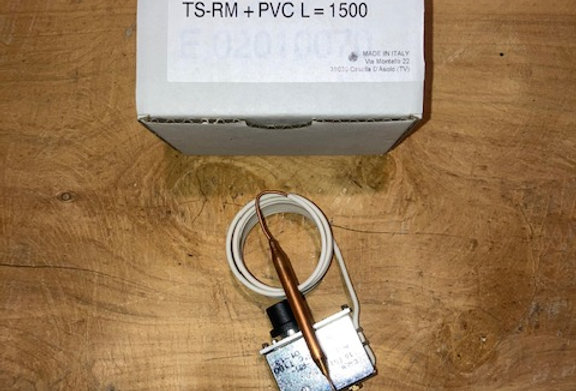 RF02031560 TERM. SICUR. 85° +/-3°C TS-RM+PVC L=1500