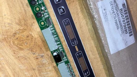 RG07070090 RIC.DISPLAY CONTROLLO C/ETICHETTA P965TH