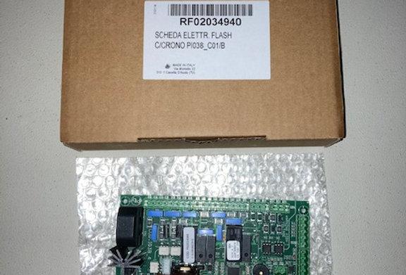 RF02034940 SCHEDA ELETTR. FLASH C/CRONO PI038_C01/B