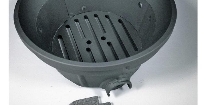 Brasero con fondo para estufas pellet Piazzetta 15kw. RP00601051