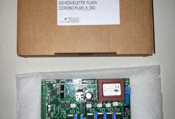 RF02035490 SCHEDA ELETTR. FLASH C/CRONO PL023_8_D50