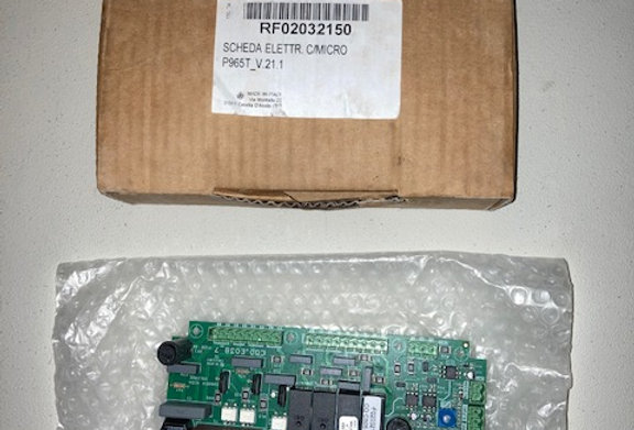RF02032150 SCHEDA ELETTR. C/MICRO P965T_V.21.1