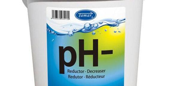 Tamar Reductor pH Granulado, 6 Kilos